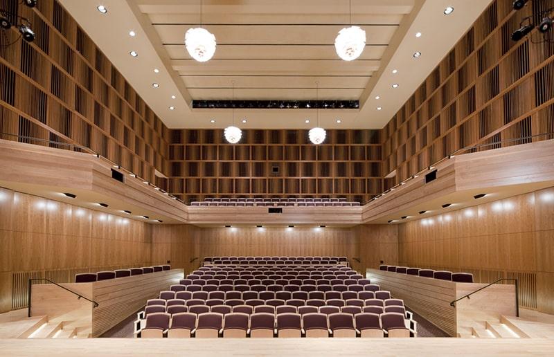 Thiết kế hội trường phù hợp với mục đích sử dụng
