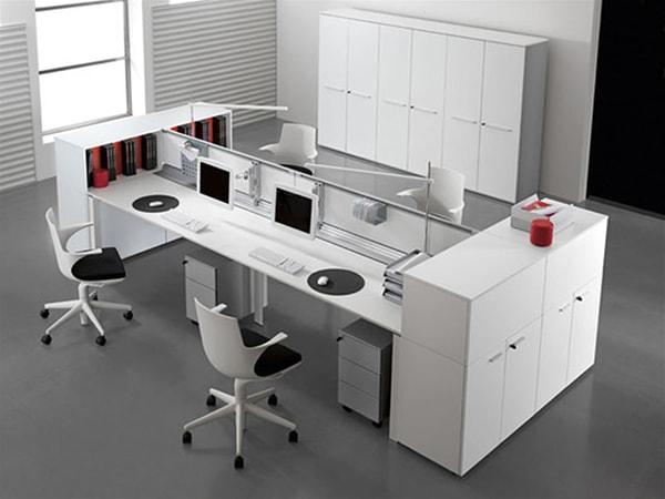 Cách bố trí tủ văn phòng hợp phong thủy để làm ăn phát đạt