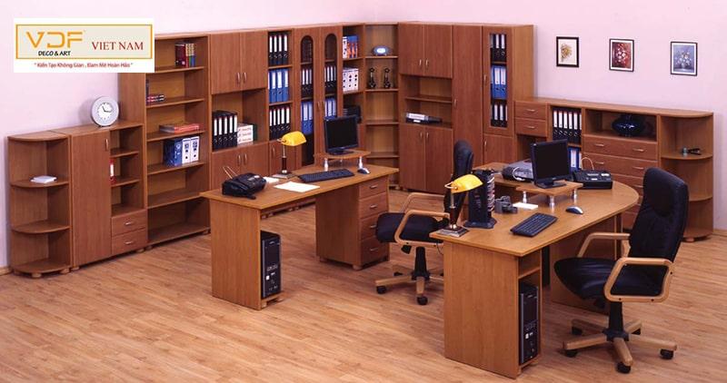 Cách bố trí, sử dụng tủ văn phòng một cách khoa học