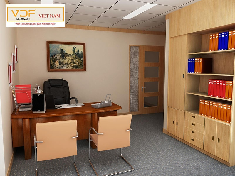 Vị trí đặt tủ tài liệu văn phòng hợp phong thủy tốt cho kinh doanh
