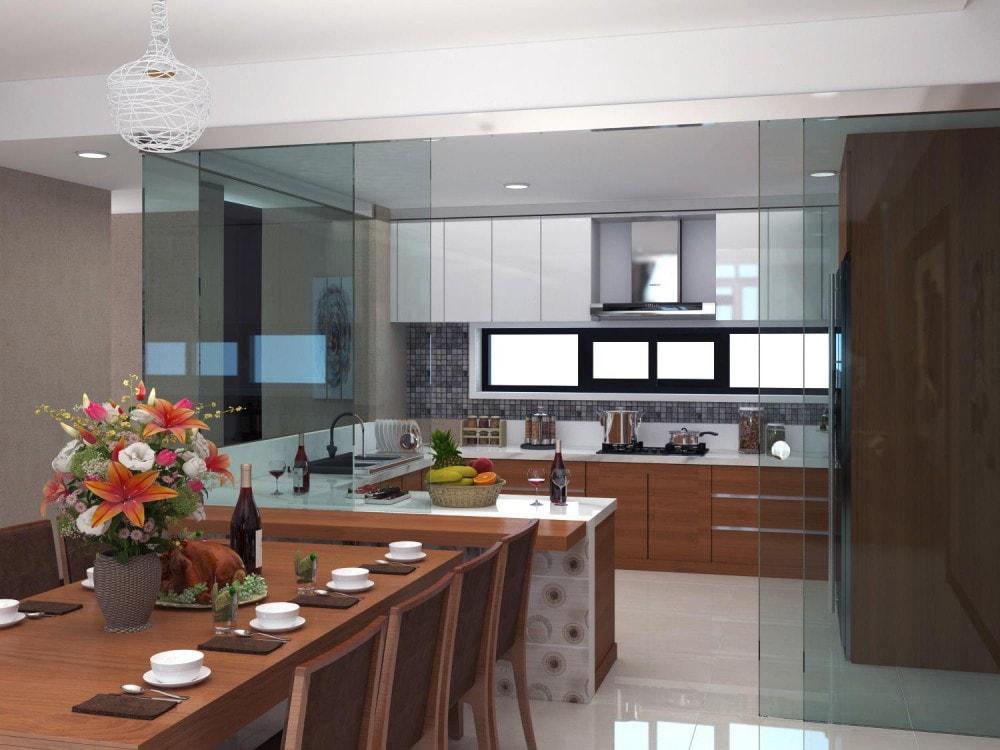 6 bước chọn chất liệu sàn phòng bếp phù hợp cho mọi nhà