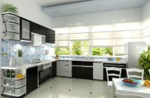 5 nguyên tắc bố trí phòng bếp chung cư hợp phong thủy