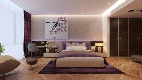 Đặt giường ngủ ở các hướng tốt đem lại vận trí tốt cho gia chủ