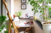 Cách trang trí ban công nhỏ của nhà chung cư