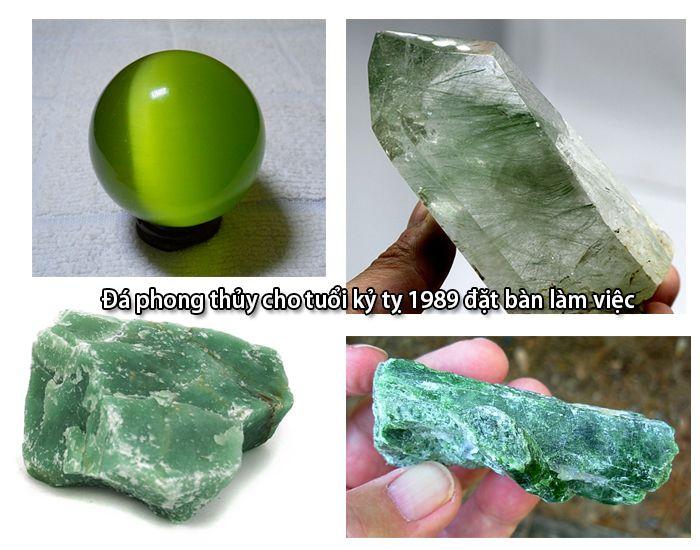Một số loại đá phong thủy để bàn làm việc hợp tuổi Kỷ Tỵ