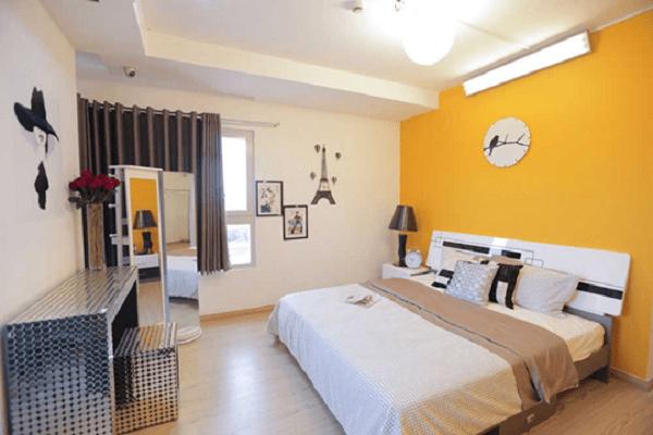 Màu sơn phòng ngủ cho gia chủ tuổi Giáp Tý
