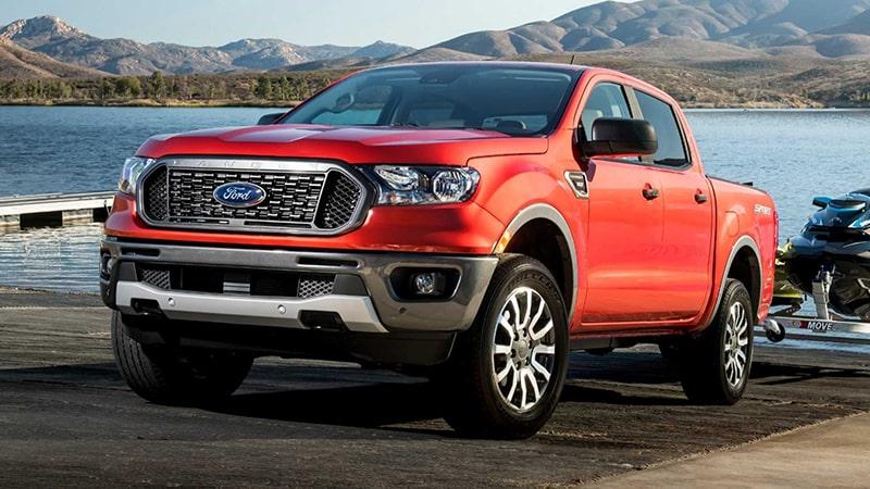 Bán tải Ford Ranger được nhiều người lựa chọn
