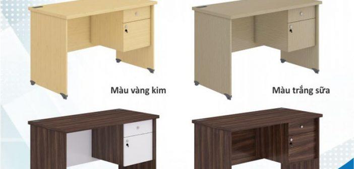 Gợi ý những mẫu bàn làm việc 1m4 đẹp nhất cho văn phòng