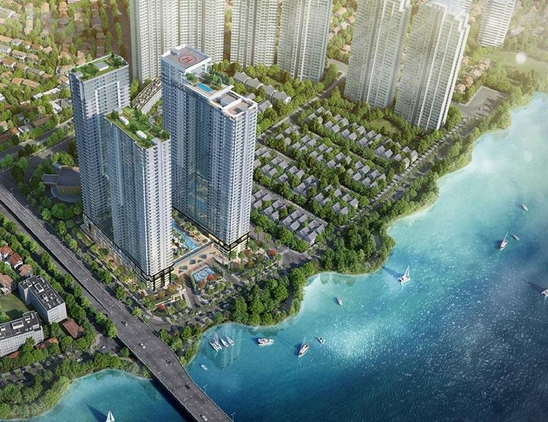 """Dự án căn hộ Sunwah Pearl trong """"lòng"""" Sài Gòn"""