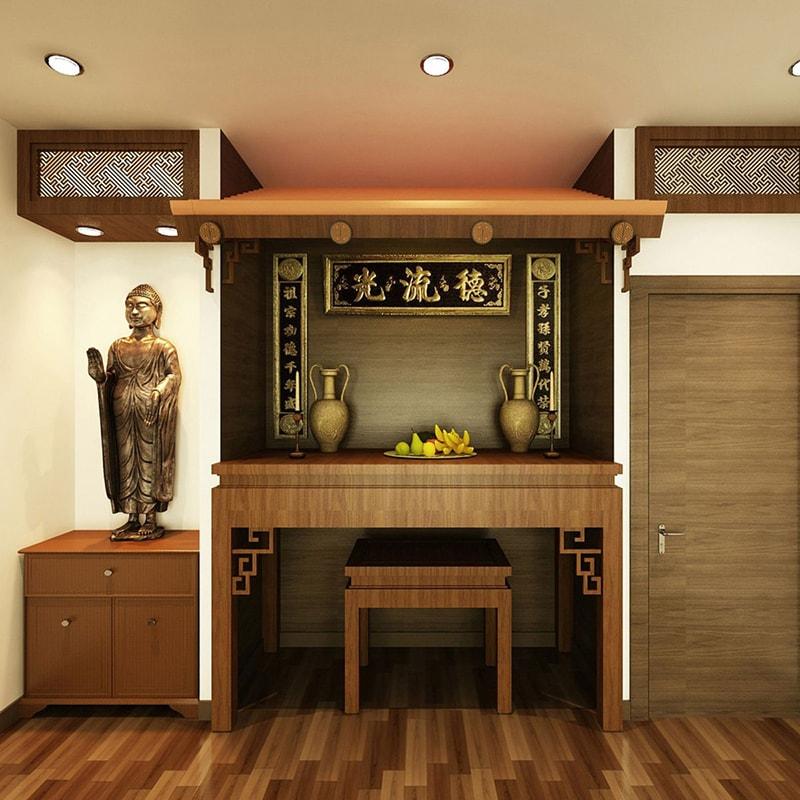 Những điều cấm kỵ khi bố trí tủ thờ Phật trong gia đình