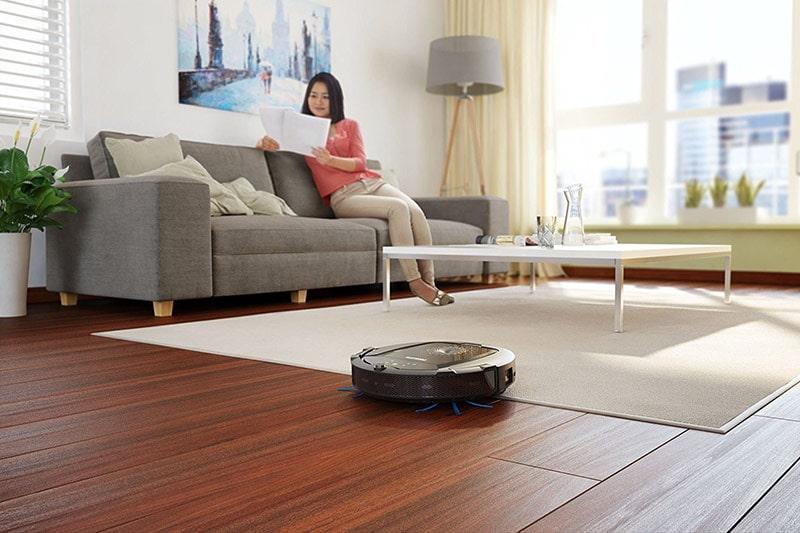 Robot hút bụi cho nhà chung cư