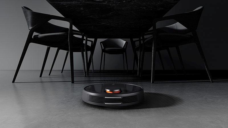 Robot hút bụi cho nhà có diện tích mặt sàn cực lớn