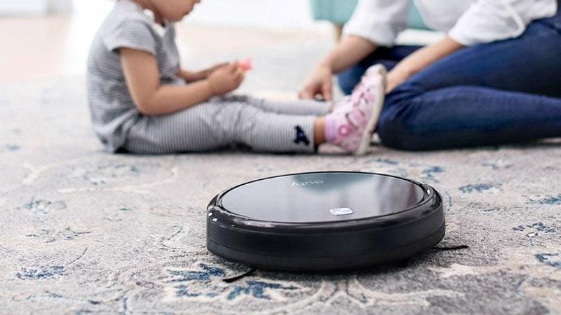 Robot hút bụi cho nhà có diện tích mặt sàn dưới 100m2