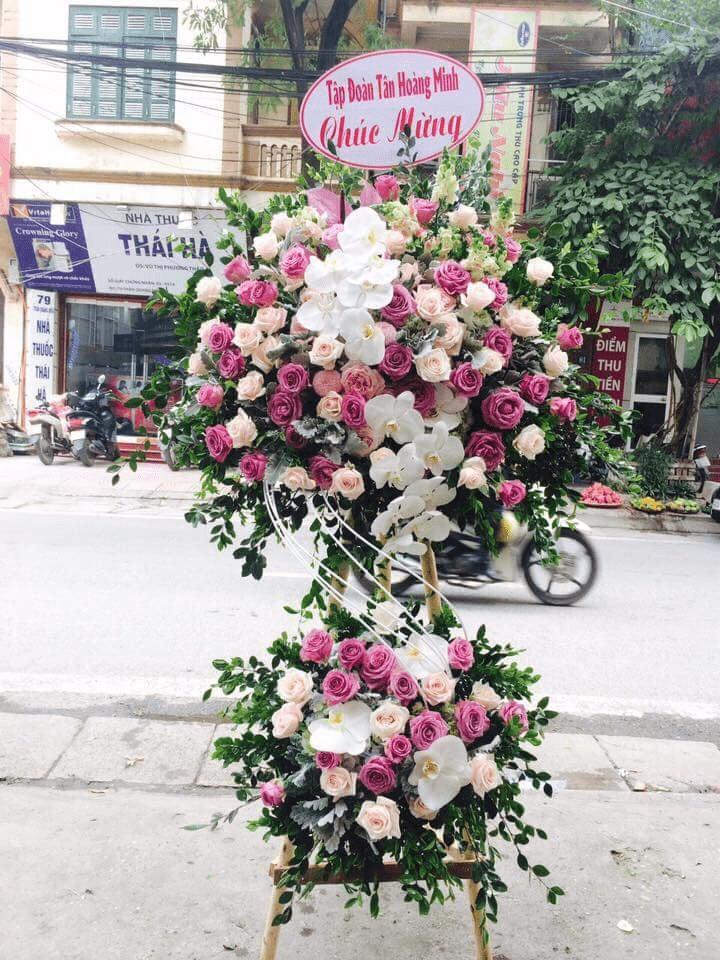 Hoa tặng quà khai trương