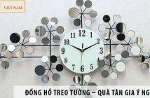 Đồng hồ treo tường – Quà tân gia ý nghĩa và sang trọng