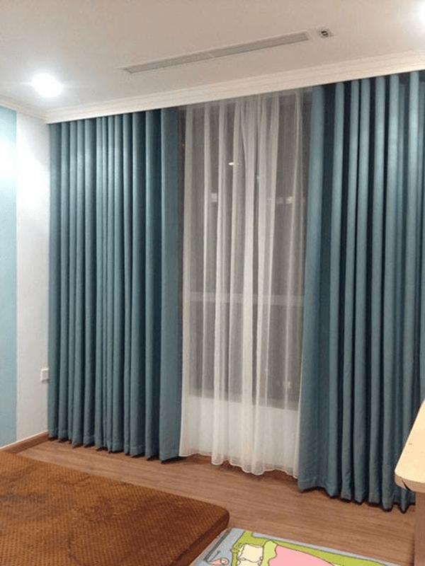 Rèm một màu thiết kế mới cho ngôi nhà sang trọng