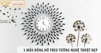 3 mẫu đồng hồ treo tường nghệ thuật tp hcm đẹp nhất hiện nay