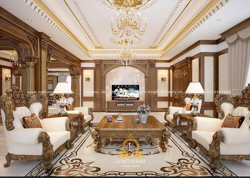 Bộ sofa đẹp làm cho không gian phòng khách trở nên sang trọng