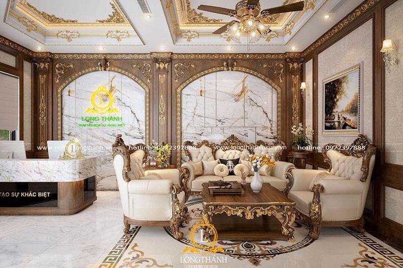 Sofa tân cổ điển, biến mọi không gian trở nên lộng lẫy
