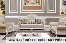 Sofa tân cổ điển - Mẫu sofa sang trọng nhất cho không gian phòng khách