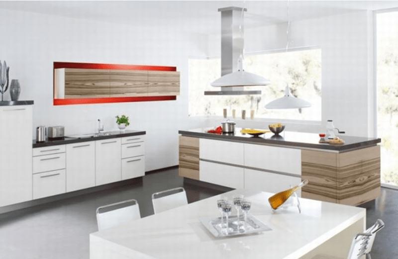 Lựa chọn chất liệu nội thất phòng bếp phù hợp