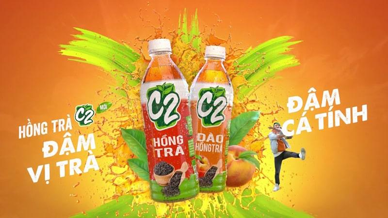 Các sản phẩm thuộc dòng sản phẩm Hồng trà C2