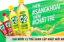Giá nước C2 trà xanh cập nhật mới nhất